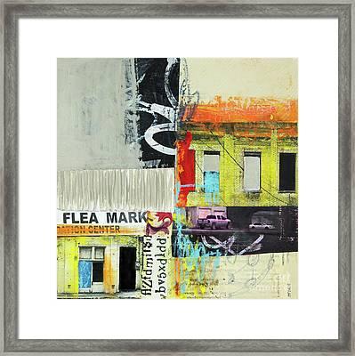 Flea Mark Framed Print