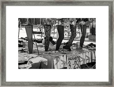Flea Market 7 Framed Print