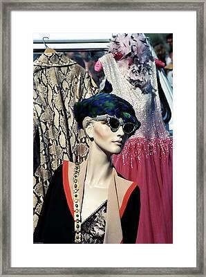 Flea Market Style Framed Print