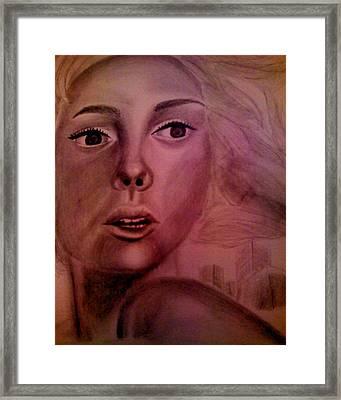 Flee Framed Print by Terrie Bilkey