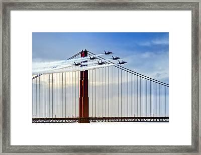 Fleet Week San Francisco 2012 Framed Print