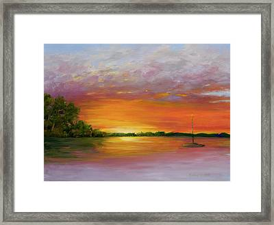 Fleeting Moments Framed Print by Audrey McLeod