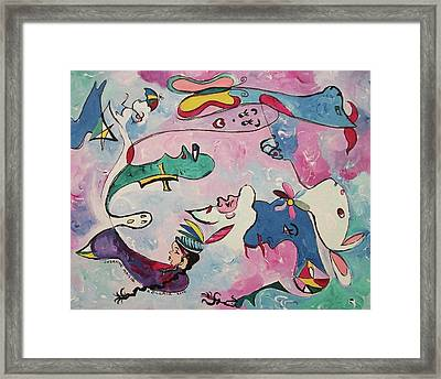 Fleeting Thoughts Framed Print