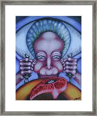 Flesh Eater Framed Print
