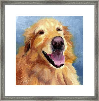 Fletcher Laughing Framed Print