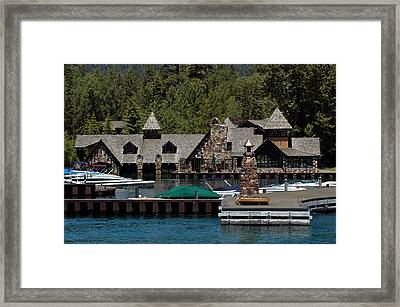 Fleur De Lac Mansion The Godfather II Framed Print