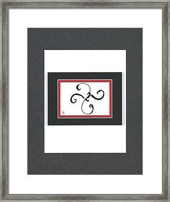Fleur-de-me Framed Print