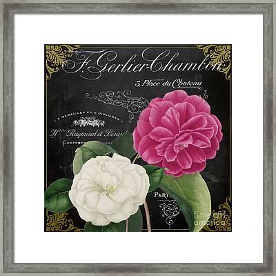 Fleur Du Jour Camellias Framed Print
