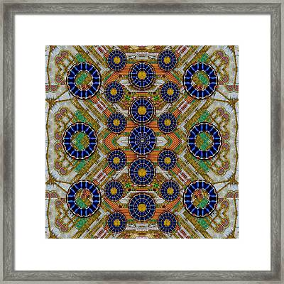 Fleur Flower Porcelaine In Calm Framed Print by Pepita Selles
