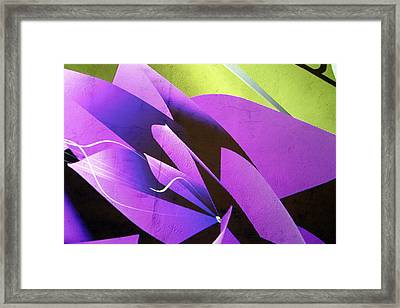 Fleur Framed Print by Jez C Self
