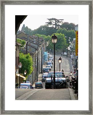 Fleurance City Framed Print by Dagmar Batyahav