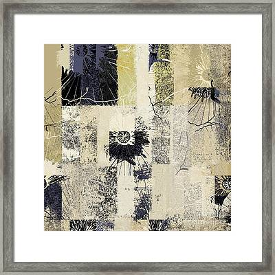 Fleurelle - 152w3b Framed Print by Variance Collections