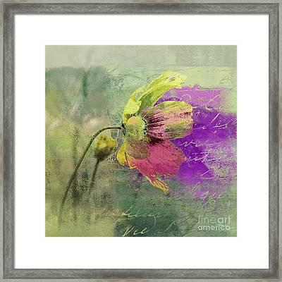 Fleurina - 208071067cb Framed Print