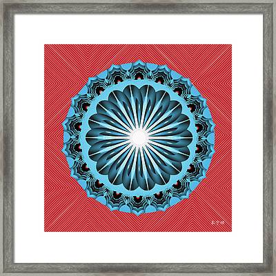 Fleuron Composition No. 242 Framed Print