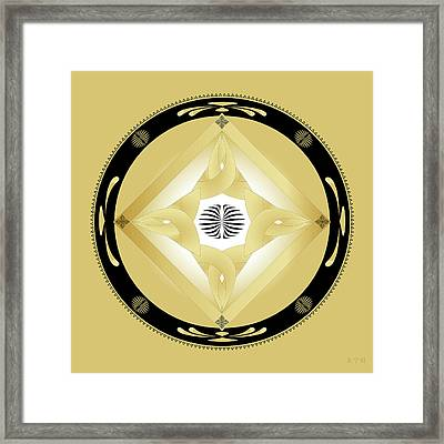 Fleuron Composition No. 246 Framed Print
