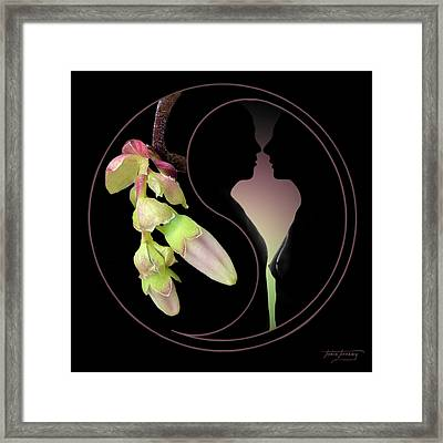 Fleurotica Framed Print by Torie Tiffany