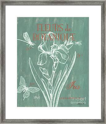Fleurs De Botanique Framed Print by Debbie DeWitt