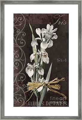 Fleurs De Paris II Framed Print by Mindy Sommers