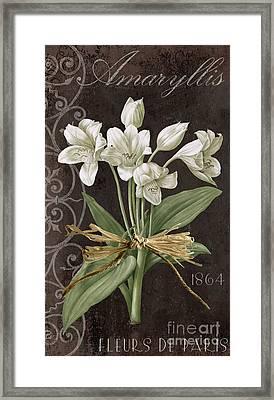 Fleurs De Paris Framed Print by Mindy Sommers