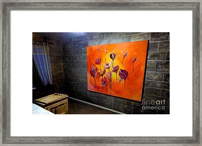 Fleurs Du Mal Framed Print by Lisa Kaiser