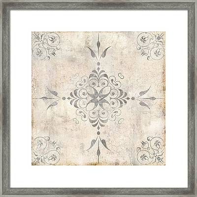 Fleurs Enchantees II Framed Print by Mindy Sommers