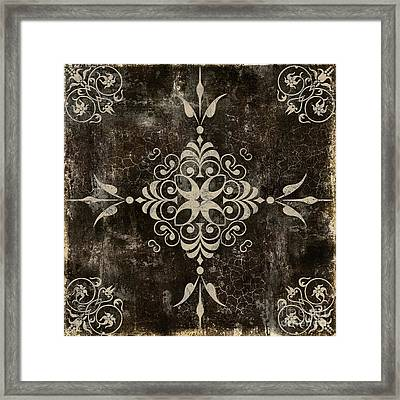 Fleurs Enchantees Framed Print by Mindy Sommers