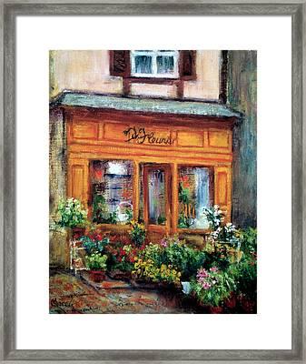 Fleurs Framed Print