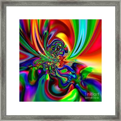 Flexibility 49ba Framed Print