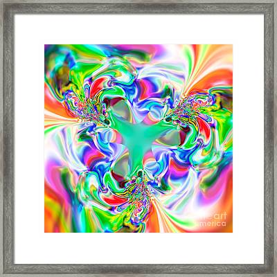 Flexibility 51ab Framed Print by Rolf Bertram
