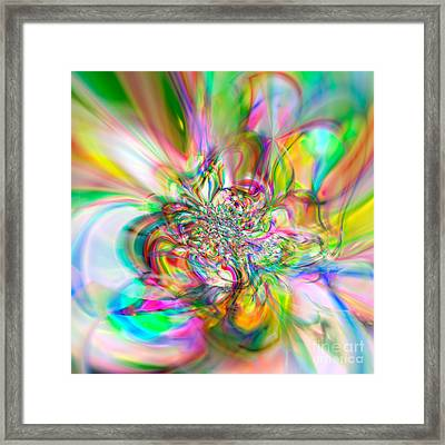 Flexibility 56aaa Framed Print by Rolf Bertram