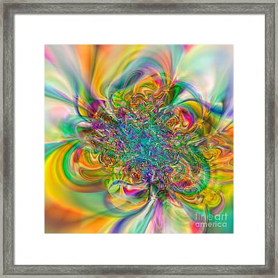 Flexibility 57abc Framed Print by Rolf Bertram