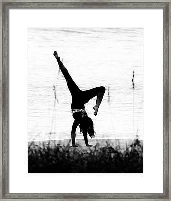 Framed Print featuring the photograph Flexible by Alan Raasch