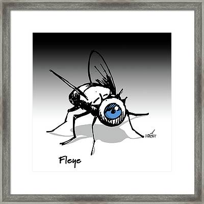 Fleye Framed Print