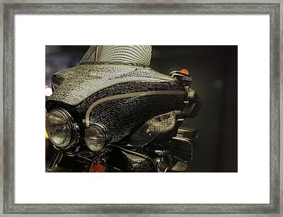 Flhtcui Ultra Classic Electra Glide With Sidecar Ohv V-twin Framed Print