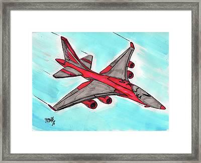 Flight 4262 Framed Print by Ronald Woods