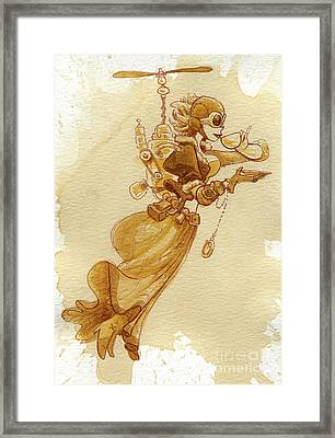 Flight Framed Print by Brian Kesinger