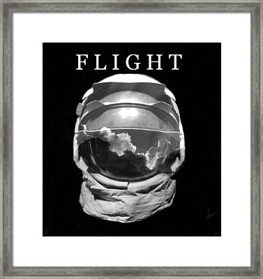Framed Print featuring the photograph Flight by David Lee Thompson