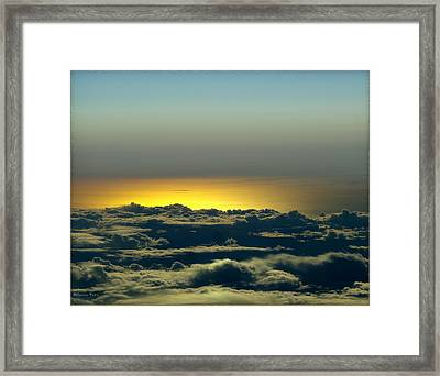 Flight Framed Print by Gerry Tetz