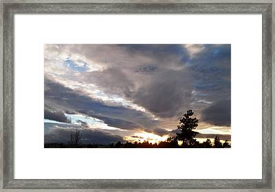Flight Into Evening Framed Print by Glenn McCarthy Art and Photography