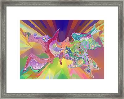 Flight Of Evolution Framed Print