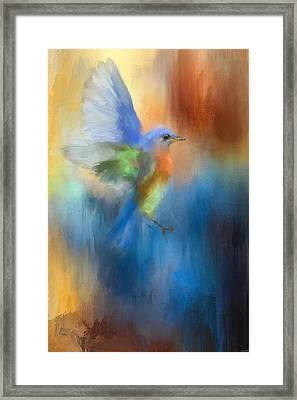 Flight Of Fancy Framed Print by Jai Johnson