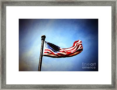 Flight Of Freedom Framed Print