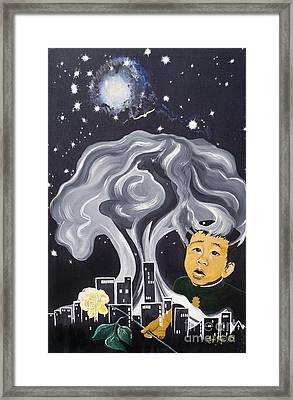 Flying Lamb Productions                Flight Of Hope Framed Print