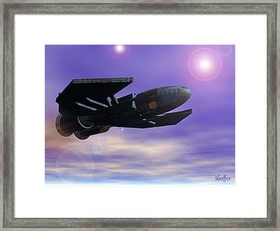 Flight Of The 501st Phoenix Framed Print by Curtiss Shaffer