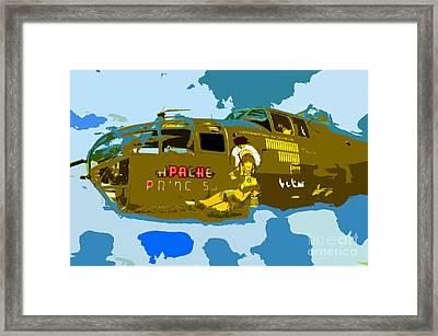Flight Of The Apache Princess Framed Print by David Lee Thompson