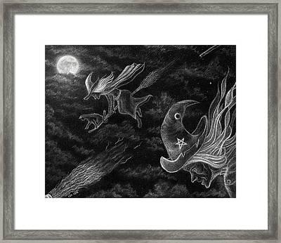 Flight Of The Coven Framed Print