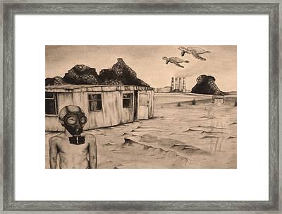 Flight Of The Sea Turtles Framed Print
