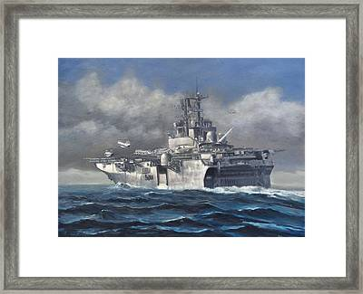 Flight Ops Framed Print