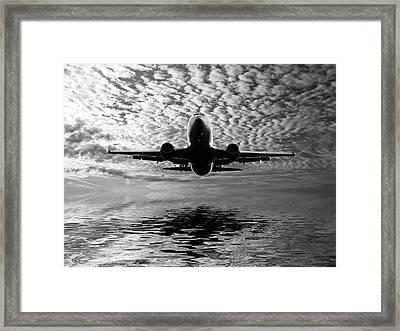 Flight Path 2 Framed Print