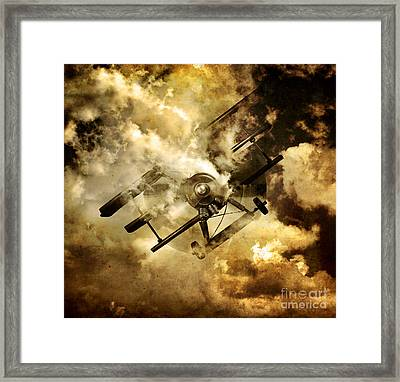 Flight Path Of Disaster Framed Print by Jorgo Photography - Wall Art Gallery